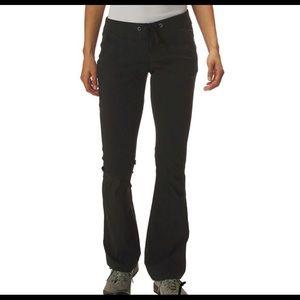 Columbia Omni Shield Nylon Outdoor Pant Sz 4 Black